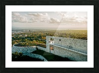 Sunset At The Getty Picture Frame print