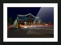 Queen St Viaduct Picture Frame print