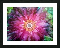 Forever Blooming Picture Frame print