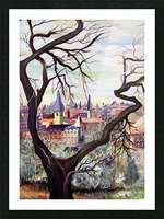 French Provenance Bohemian View Picture Frame print