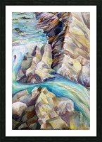 Rocky Mountains Crystel River Colorado Picture Frame print