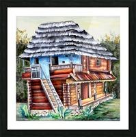 Romania Transylvania  Heritage House Picture Frame print