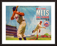 1969 New York Mets Picture Frame print