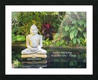 Zen Picture Frame print