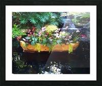 Floating Botanicals Picture Frame print