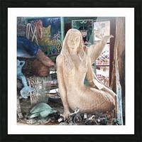MermaidPondering Picture Frame print