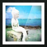 MermaidLisa Picture Frame print