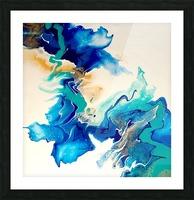 Ocean_Blue_II Picture Frame print