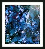Smouldering blue Impression et Cadre photo