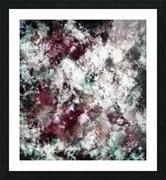 Snowcap Picture Frame print