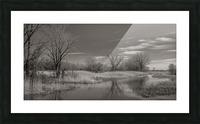 Varennes Picture Frame print