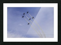 JET PLANES EXHIBITION Picture Frame print