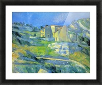 House in the Provence by Cezanne Picture Frame print