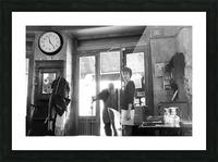 Bienvenue dans le Brasserie Picture Frame print