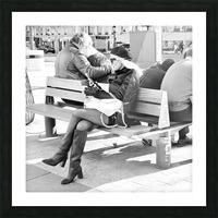 Dimanche Le Long de Champs Elysees Picture Frame print