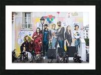 Dans Le Marais Picture Frame print