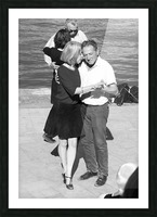 Salsa de la Seine Picture Frame print