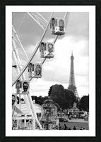 La grande roue Picture Frame print