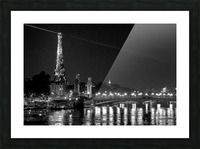 Illumination of the Iron Lady Picture Frame print