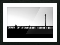 Together in Paris Picture Frame print