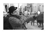 Musique rue des Francs Bourgeois Picture Frame print