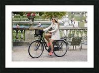 Elegance in Jardin de Luxembourg Picture Frame print