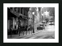 Brasserie les Buttes Chaumont Picture Frame print
