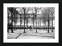 Reflection de la Nuit Picture Frame print