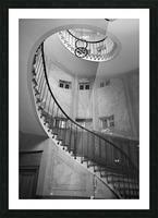 Escalier Monumental Picture Frame print