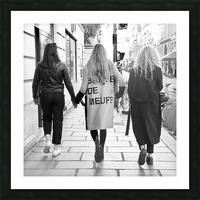 Bande de Meufs Picture Frame print