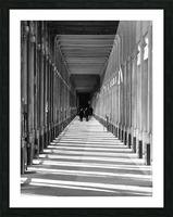 Palais Royale Picture Frame print