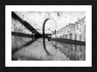 Reflections on the Seine Picture Frame print