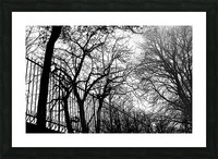 Pere Lachaise Picture Frame print