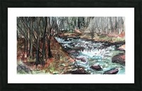 Gatlinburg Creek Picture Frame print