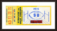 ticket wall art Picture Frame print