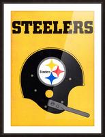1968 Pittsburgh Steelers Helmet Art Picture Frame print