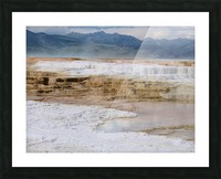 Mammoth Hot Springs part 2 Yellowstone National Park Picture Frame print