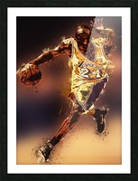 Kobe Bryant Best Moments 8 Picture Frame print