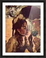 In the Tuileries - Woman with Parasol by Degas Picture Frame print