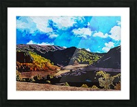 Beautiful Nature Object 12 Picture Frame print