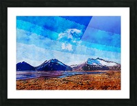 Nature View  Picture Frame print