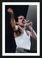Freddie Mercury of Queen Picture Frame print