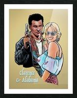 Tarantino: True Romance - Clarence and Alabama Picture Frame print