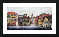 Italy Bohemian Rome Illustration  Picture Frame print