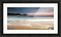 Three Cliffs Bay Swansea Picture Frame print
