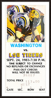 1983 LSU vs. Washington Picture Frame print