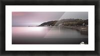 Mumbles coastline Swansea Picture Frame print
