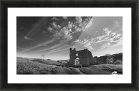Pennard castle Gower Picture Frame print