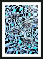 All Seeing Eye Pop Culture Picture Frame print