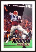 auburn football art 1983 Picture Frame print
